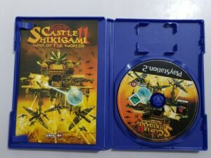 Castle Shikigami II War of the Worlds disco manual ps2 pal esp