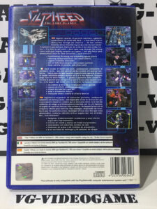 Silpheed The Lost Planet contraportada ps2 PAL España playstation 2