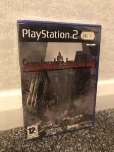 Space Invaders Invasion Day portada ps2 PAL playstation 2