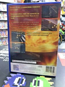 Space Rebellion ps2 PAL contraportada playstation 2