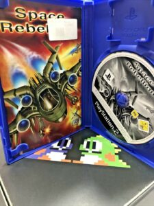 Space Rebellion ps2 PAL manual disco playstation 2